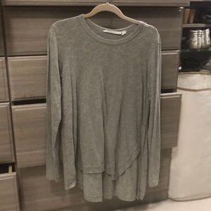Wilt long sleeve gray t shirt